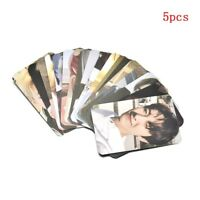 Kpop NCT REALITY Empathy Paper Cards Self Made Autograph Photocard Poster 5PCS