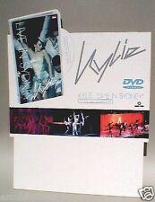 "Kylie Minogue ""Live In Sydney"" Australian Promo Divider / Standup -Concert Shots"
