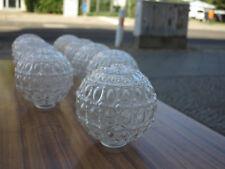 1 Glaskugel Glocke Ersatzglas Deckenlampe True Vintage Pressglas Lampen R. Essig