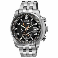Citizen Eco Drive AT9010-52E Mens World Time Atomic Radio Controlled 43mm Watch