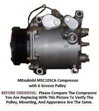 Mitsubishi Eclipse Galant Sebring 94-98  OEM  MSC105CVS AC Compressor 4 Groove