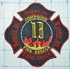 IRAQ, CAMP BUCCA FIRE DEPT RESCUE ENGINE 281 PATCH