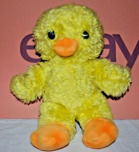 Vintage Yellow Duck Ducking Soft Toy Made In Korea