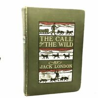 1903 1st Edition 3rd Printing The Call Of The Wild Jack London Macmillan VG