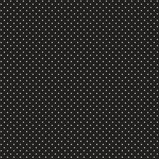 Baumwollstoff Pünktchen Schwarz METERWARE Webware Popeline Stoff Dots