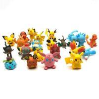 144 Toys Dolls Different Styles Pokémon Figures Model Collection 2-3cm..