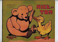 Nick et Tom Benjamin Rabier 1942 TBE