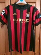 Manchester City football shirt for boys Size 158  13/15 years Umbro  #21  SILVA