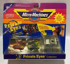 Micro Machines Private Eyes #3 Toyota MR2 1st Gen, Porsche 959, Ford Thunderbird