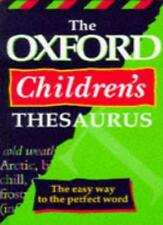 The Oxford Children's Thesaurus By Alan Spooner. 9780199103232