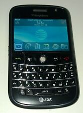 BlackBerry Bold 9000  - 1GB - Black (AT&T) Good Condition - READ BELOW