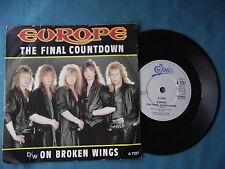 """Europe-Le compte à rebours final. 7"""" VINYLE SINGLE (7v1937)"""