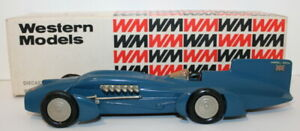 Western Models 1/43 Scale - WMS9 - 1933 Campbell Rolls Royce Bluebird Land Speed