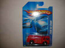 2008 Hot Wheels All Stars RED FIRE-EATER Engine truck #48/196 red 5sp FREE SHIP