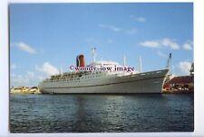 LN0690 - Carnival Cruise Lines Liner - Mardi Gras , built 1961 - postcard