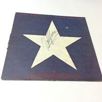 Neil Young Vinyl LP 'Hawks and Doves' US 1980 SIGNED AUTOGRAPHED Copy VG/G+ Rare