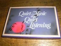Set Of 4 Boxed Cassettes 'Quiet Music For Quiet Listening' From Readers Digest