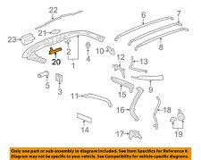 Chevrolet GM OEM 05-13 Corvette Convertible/soft Top-Handle 22926400