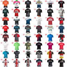 Mens Team Cycling Jerseys MTB Cycle Jersey Short Sleeve Bike Jersey Top Clothing