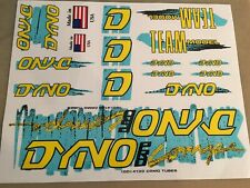 OLD SCHOOL BMX -  1987 Dyno Pro-Compe Decal Stickers