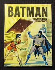 1970 BATMAN & ROBIN Bumper Book UK HC VG 4.0 Comic Strips & Stories