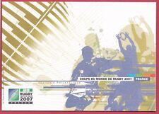 FRANCE SOUVENIR PHILAT. COUPE DU MONDE DE RUGBY 2007 N° 4080  NEUF** (4 photos)