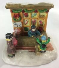 *Cobblestone Corner Candy Shop / Store Windham Heights Christmas Village House