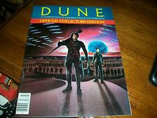 DUNE Official Collectors Edition Magazine Frank Herbert David Lynch