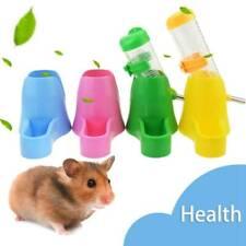 2 in1 Cute Animal Hamster Dispenser With Base Nest Water Bottle Holder Pet Hut