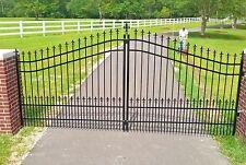 Custom Built Driveway Entry Gate 12ft Wide Single Swing Driveway Gate