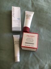 4 Pc! Travel Set Shiseido Essential Energy Eye Concentrate Cream Clarifying Foam
