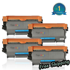 4pk TN450 For Brother Black Toner Cartridge High Yield HL-2240 2270DW MFC-7360N