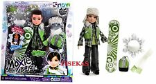Moxie Girlz Boyz Magic Snow Jaxson Boy Doll Snow Skis Poles Accessories NEW