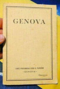 GENOVA - ENTE PROVINCIALE PER IL TURISMO / OMAGGIO /