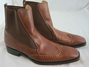John W. Shoes Herrenstiefelette in 45 / UK 10,5 / Neuw. / Braun / NP 189 €