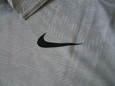 Nwt Nike Golf Dri Fit Polo Shirt - Silvery Gray Pattern with Black - Mens L