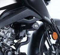 R&G RACING Aero Crash Protectors, Suzuki GSX-S125 *BLACK*