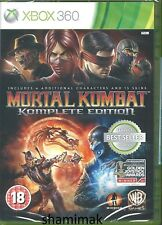 Mortal Kombat -- Komplete Edition Brand New Xbox 360 Game
