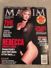 Maxim Magazine November 2002 #59 Rebecca Romijn Cover VG Cond. No Label