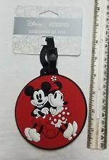 DISNEY - AMERICAN TOURISTER Mickey/Minnie Luggage ID Tag