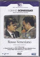 2 Dvd Sceneggiati Rai **ROSSO VENEZIANO** con Franco Volpi completa nuovo 1975