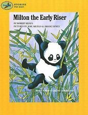 Milton the Early Riser (Stories to Go!), Kraus, Robert, Very Good Book