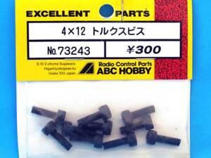 ABC Hobby 73243 Vis Torx 4x12mm (10) Modélisme