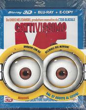Blu-ray 3D + Blu-ray 2D + E-Copy **CATTIVISSIMO ME 3D** nuovo sigillato 2010