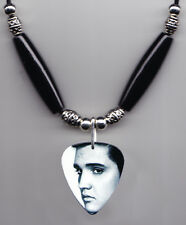 Elvis Presley Signature Photo Guitar Pick Necklace #4