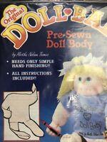 Vintage Doll Baby Making Kits Set Of Two Doll Body Make Handmade