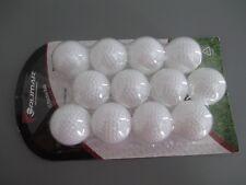 Orlimar White 12 Practice Limited Flight hollow Golf Balls Indoor / Outdoor Use