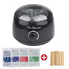 Wachsgerät Set Wachswärmer Wachs Erhitzer+ 400g Wachs Bohnen Haarentfernung Wax