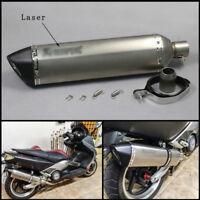 570mm Motorcycle Laser Mark Exhaust Muffler DB Killer Escape Silencer Vent Pipe