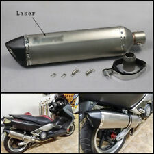 570mm Motorcycle Laser Mark Exhaust Muffler DB Killer Escape Silencer Vent Pipe